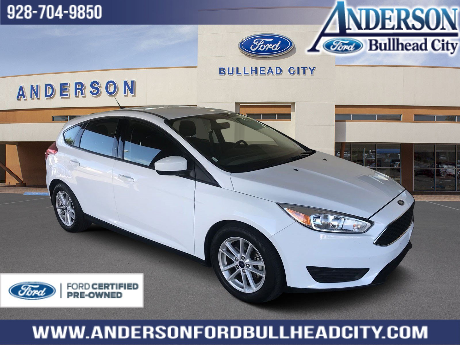 Ford Certified Pre Owned >> Certified Pre Owned 2018 Ford Focus Se Fwd 4d Hatchback