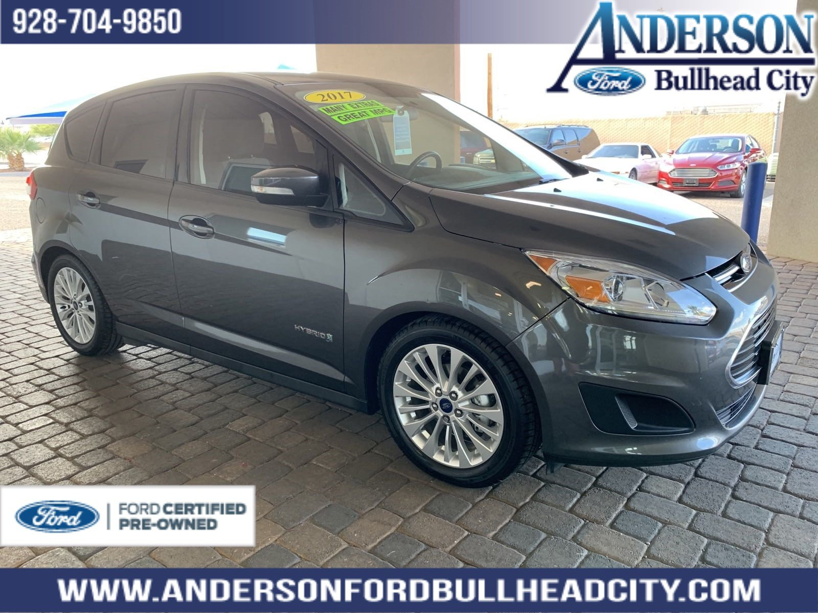 Certified Pre Owned 2017 Ford C Max Hybrid Se