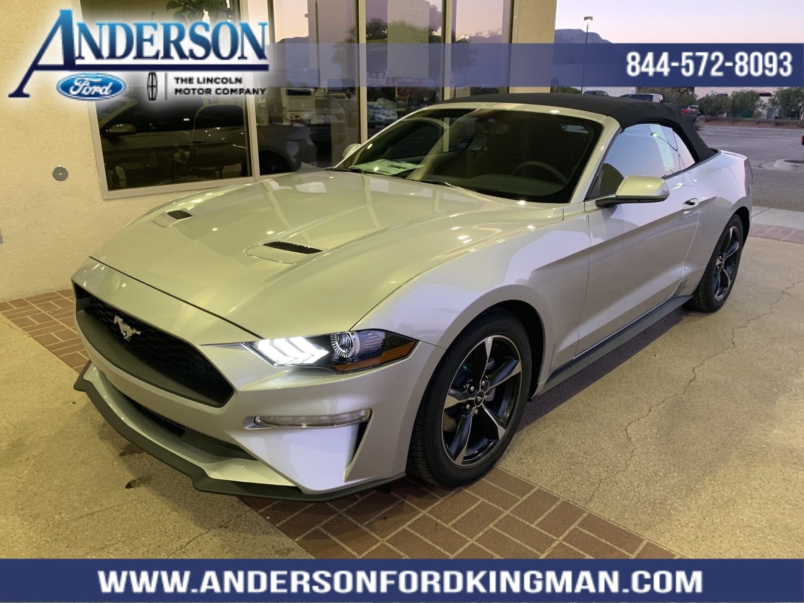 New 2019 Ford Mustang EcoBoost 2D Convertible in K