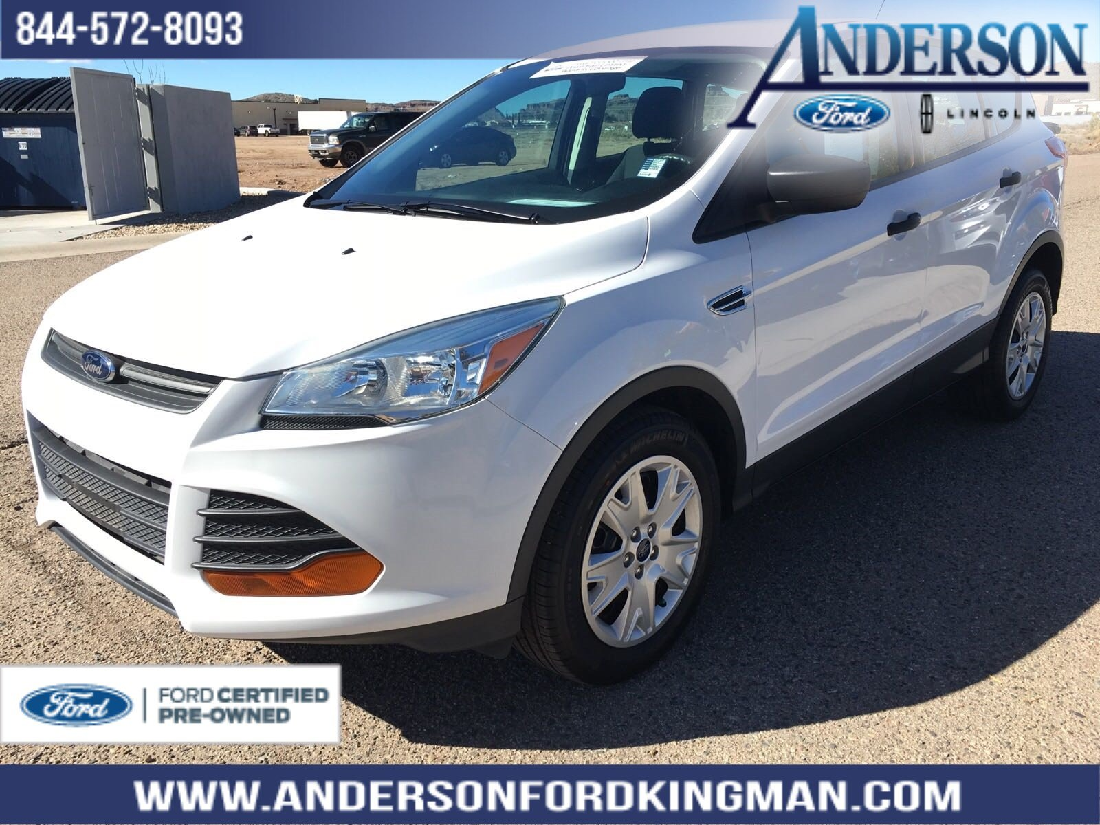 Certified Pre-Owned 2016 Ford Escape S