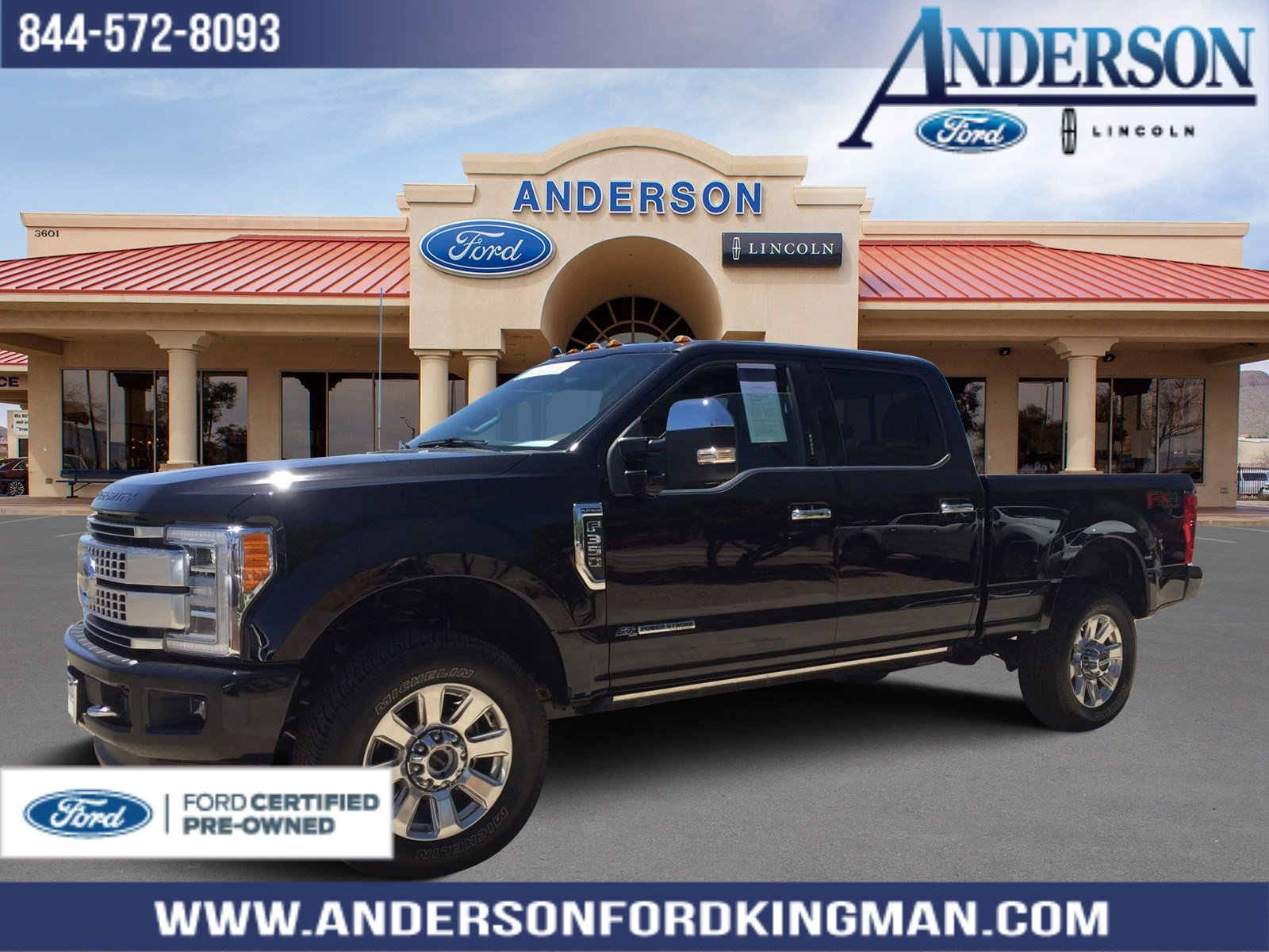 Certified Pre-Owned 2019 Ford F-350SD Platinum