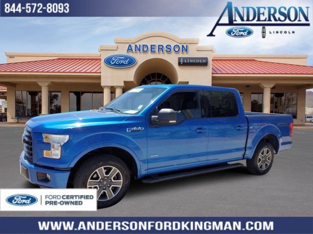 Ford Certified Pre Owned >> Certified Pre Owned 2015 Ford F 150 Xlt Rwd 4d Supercrew