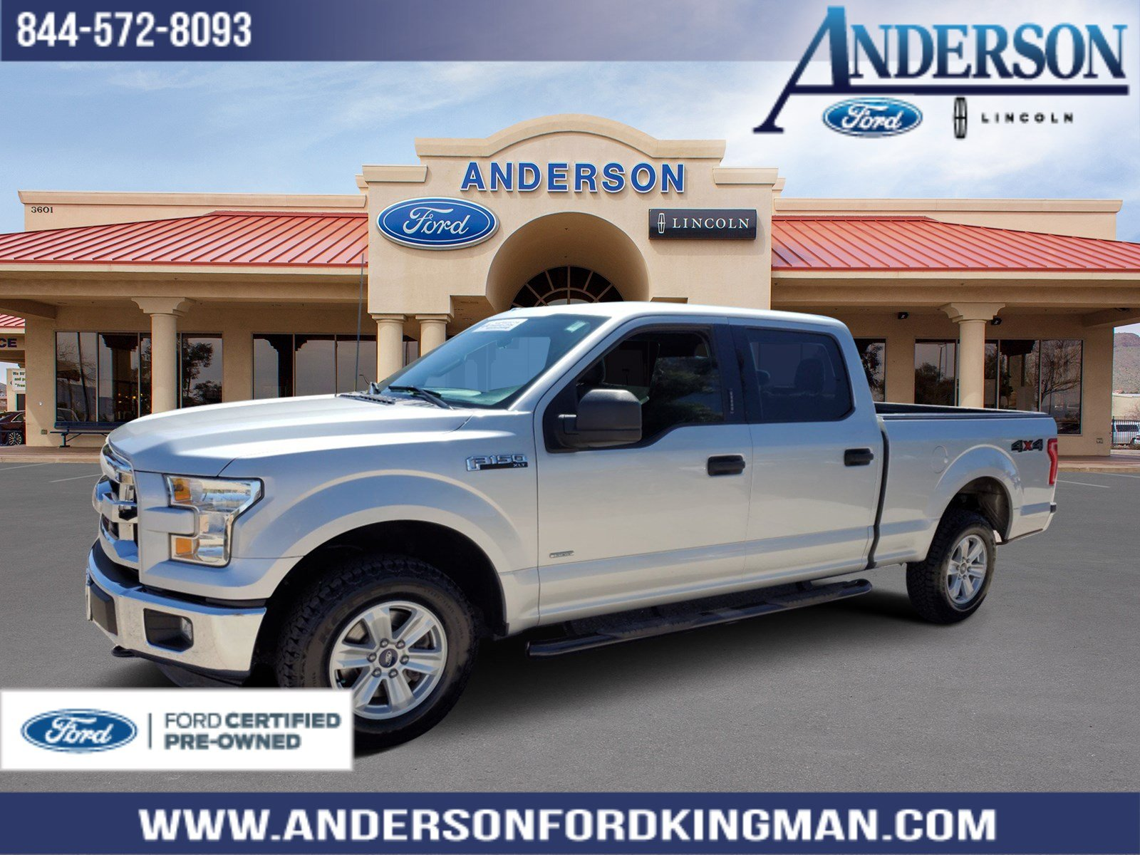 Ford Certified Pre Owned >> Certified Pre Owned 2016 Ford F 150 Xlt 4wd