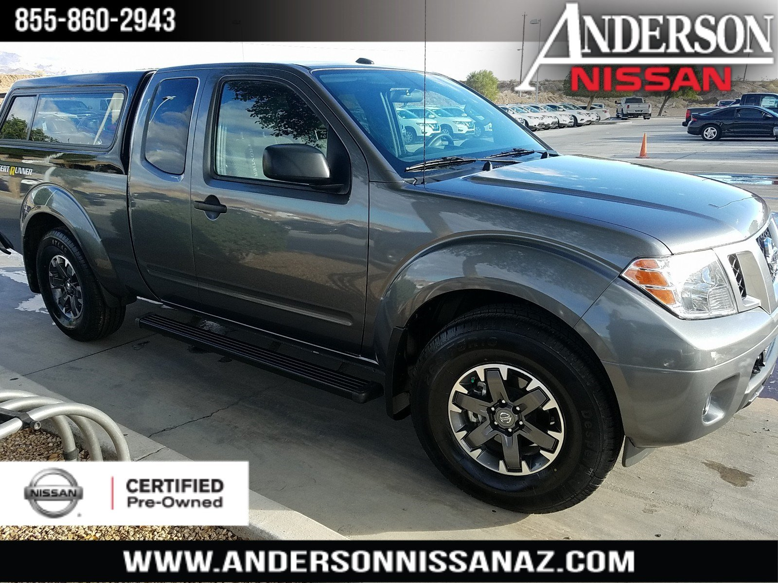 Certified Pre Owned 2017 Nissan Frontier Desert Runner King Cab In