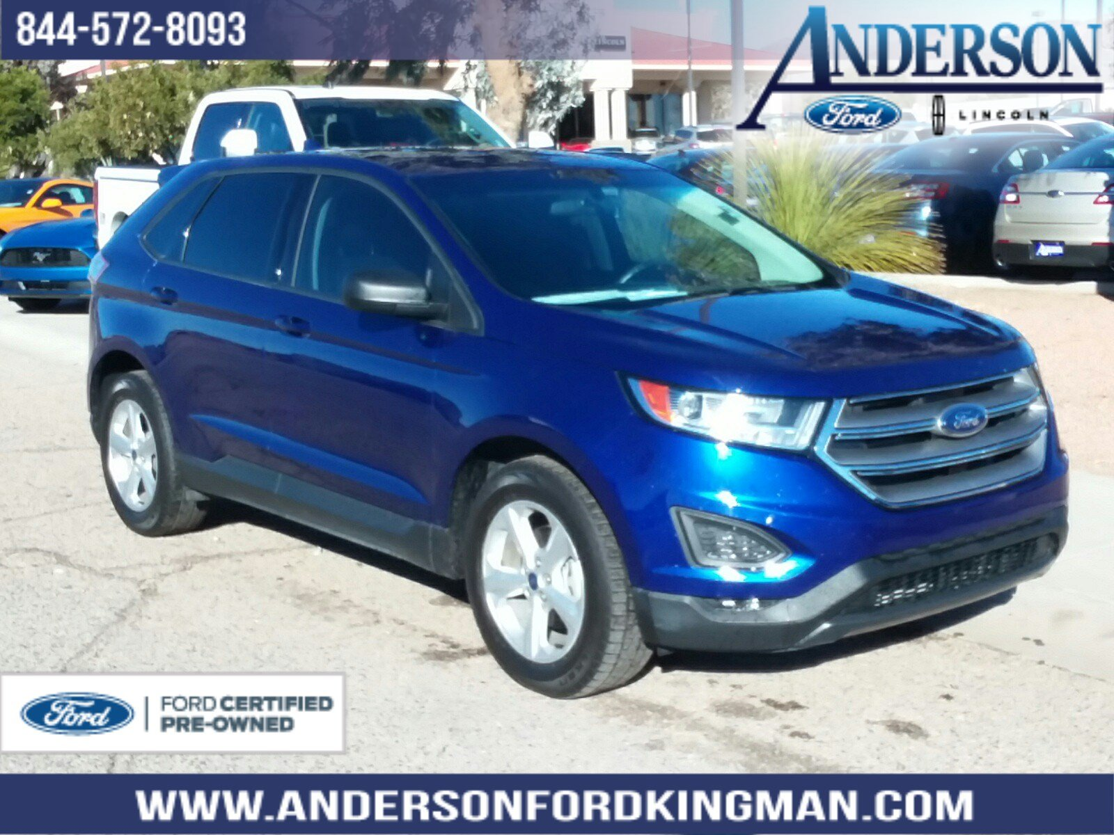 Certified Pre-Owned 2015 Ford Edge SE
