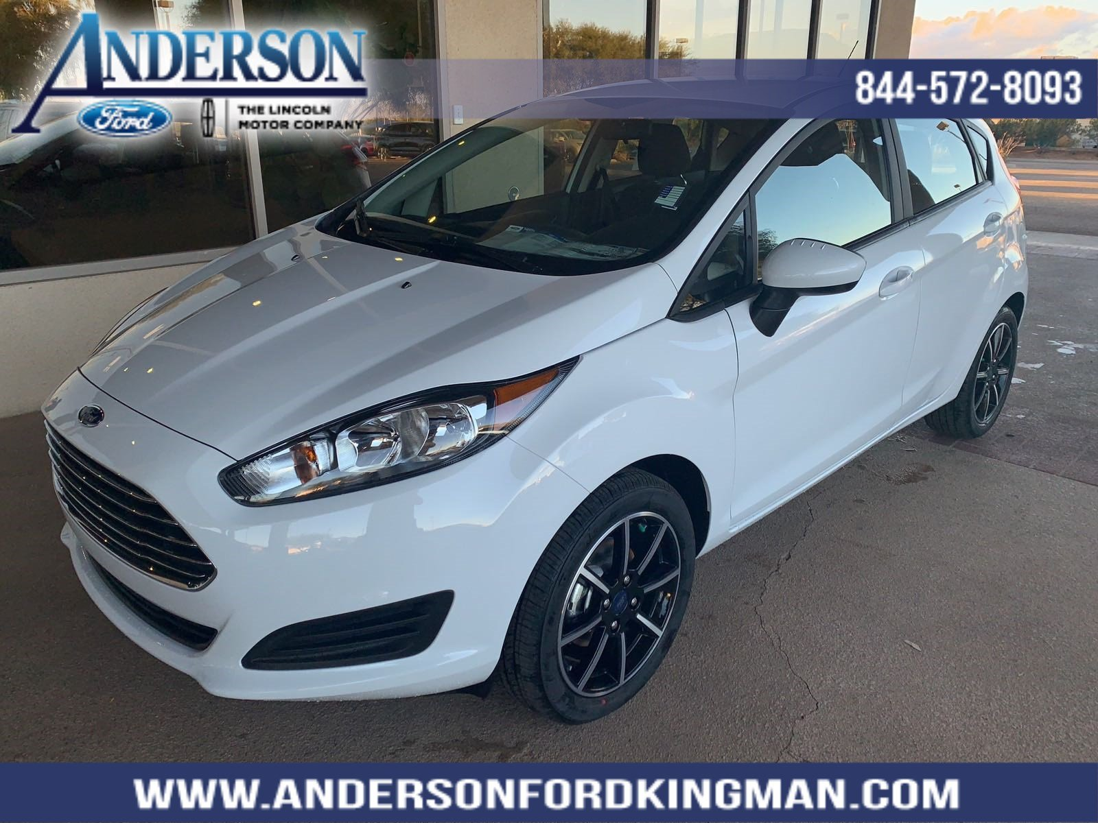New 2018 Ford Fiesta Se 4d Hatchback In K143030 Anderson Auto Group 2012 Fuel Filter