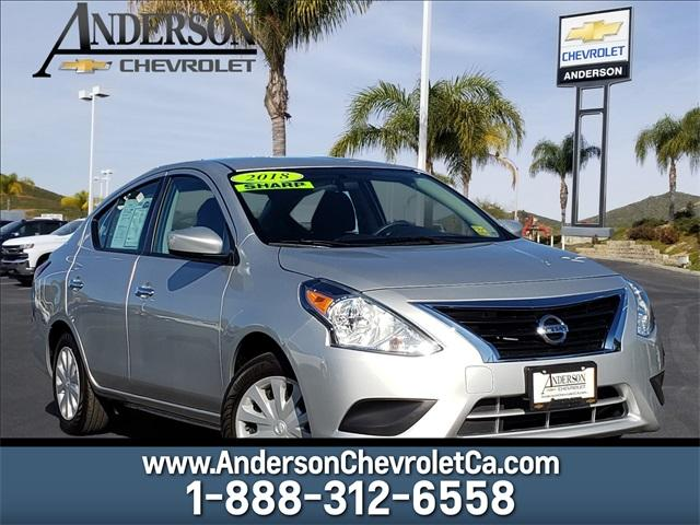 Pre-Owned 2018 Nissan Versa Sedan 1.6 S