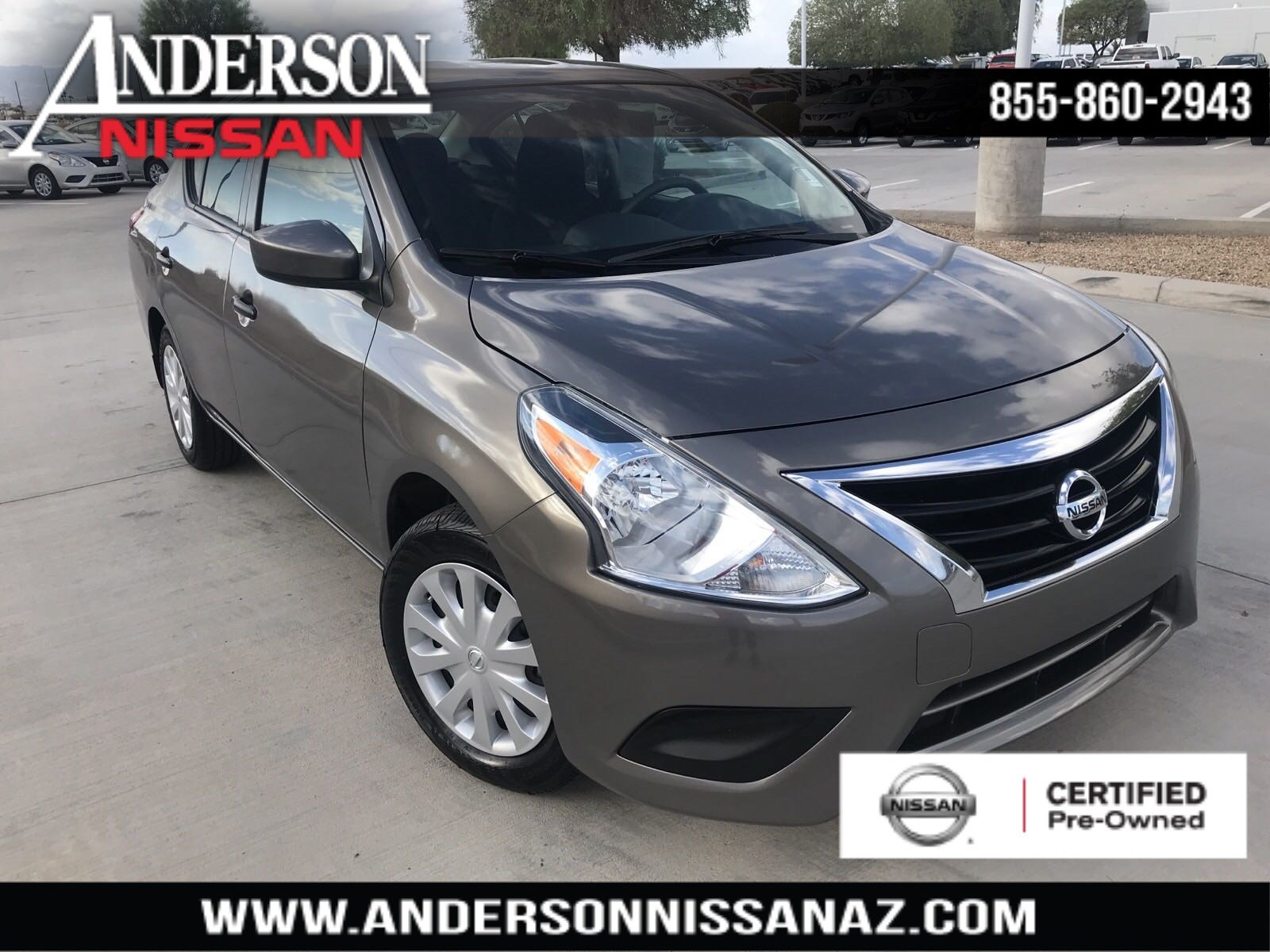 Certified Pre-Owned 2016 Nissan Versa 1.6 S Plus