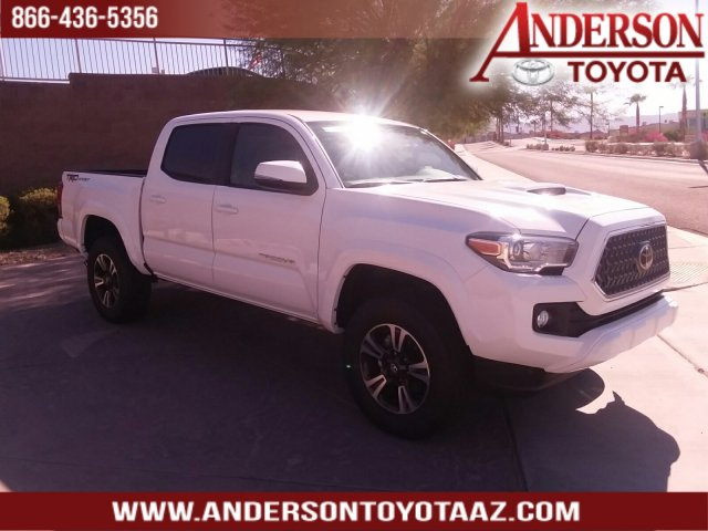 New 2019 Toyota Tacoma TRD Sport RWD 4D Double Cab