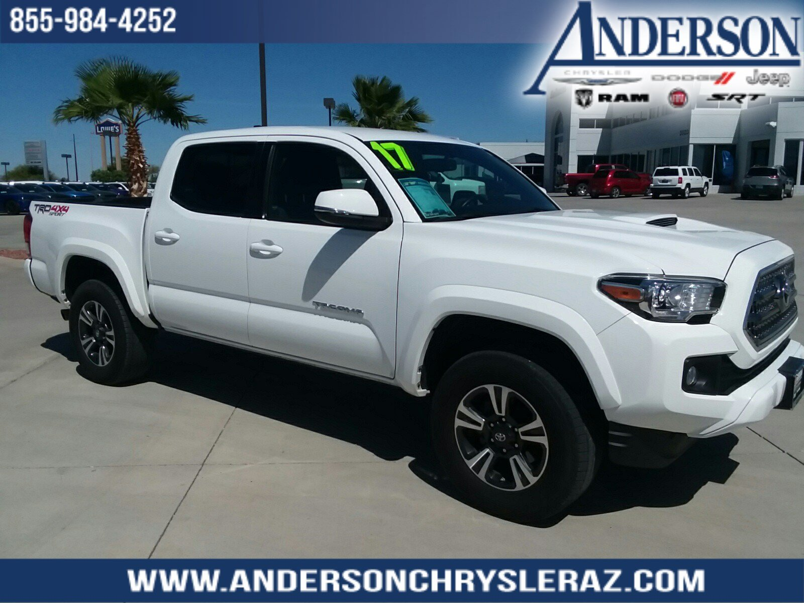 Pre Owned 2017 Toyota Tacoma Trd Sport
