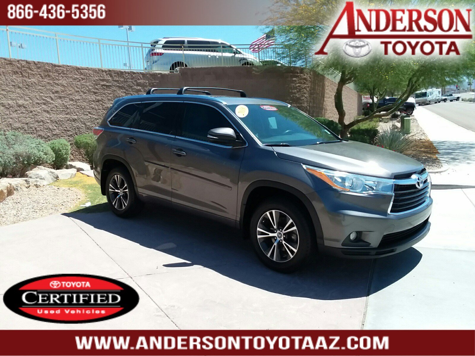 Toyota Certified Pre Owned >> Certified Pre Owned 2016 Toyota Highlander Xle V6 4d Sport Utility