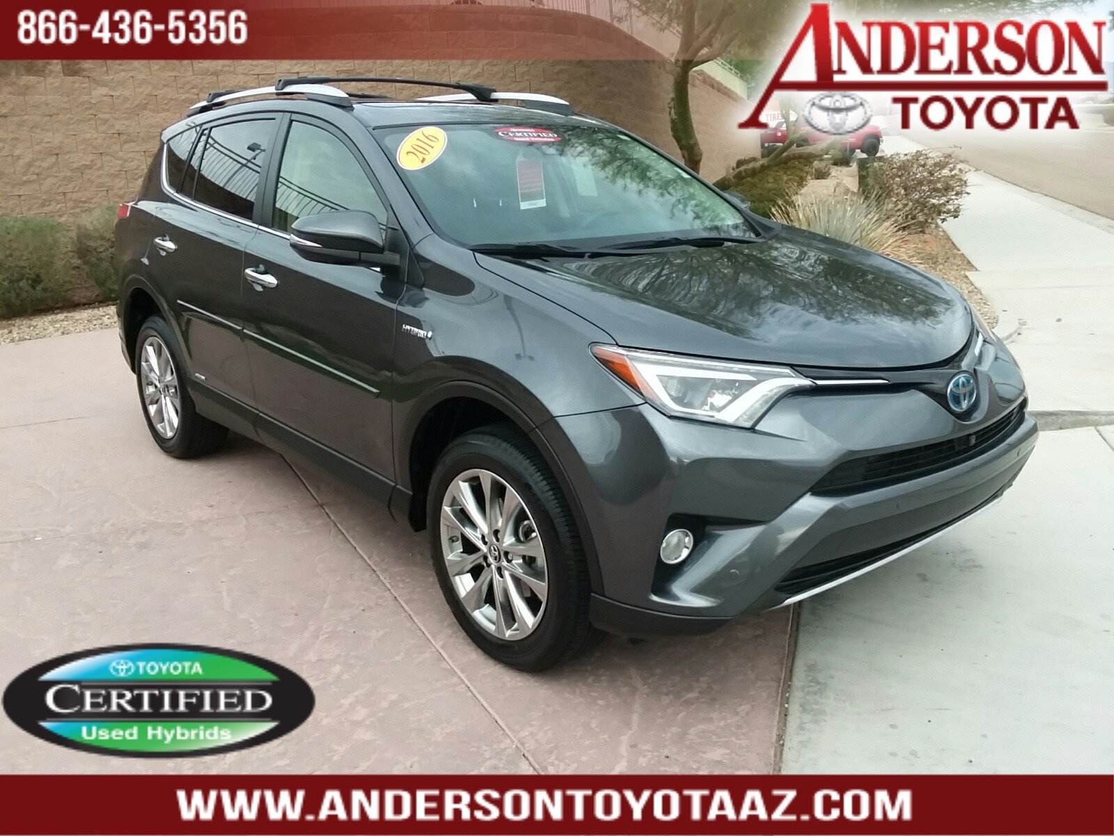 Certified Pre Owned 2016 Toyota Rav4 Hybrid Limited