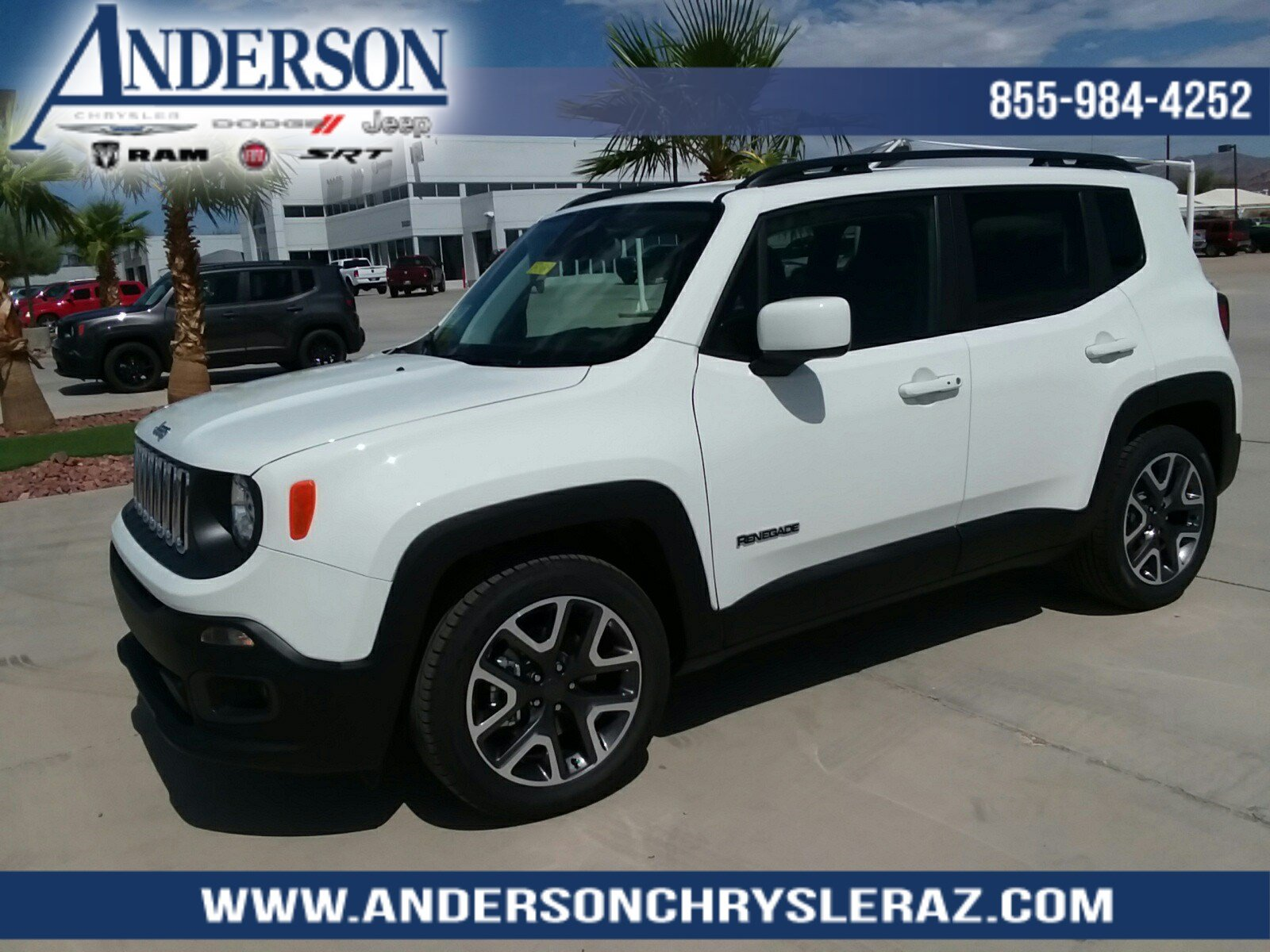 New 2018 Jeep Renegade Latitude 4D Sport Utility in