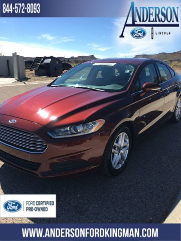 Certified Pre-Owned 2015 Ford Fusion SE
